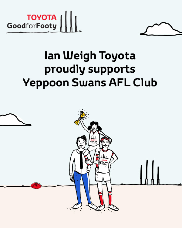 FB IWT Proudly Supports Yeppoon Swans AFL Club
