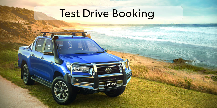 Test Drive Booking