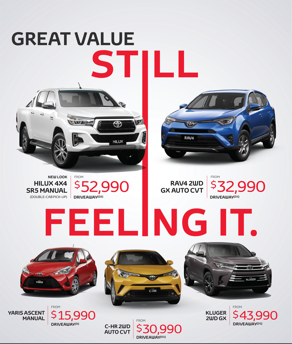Full Page Hilux specials page